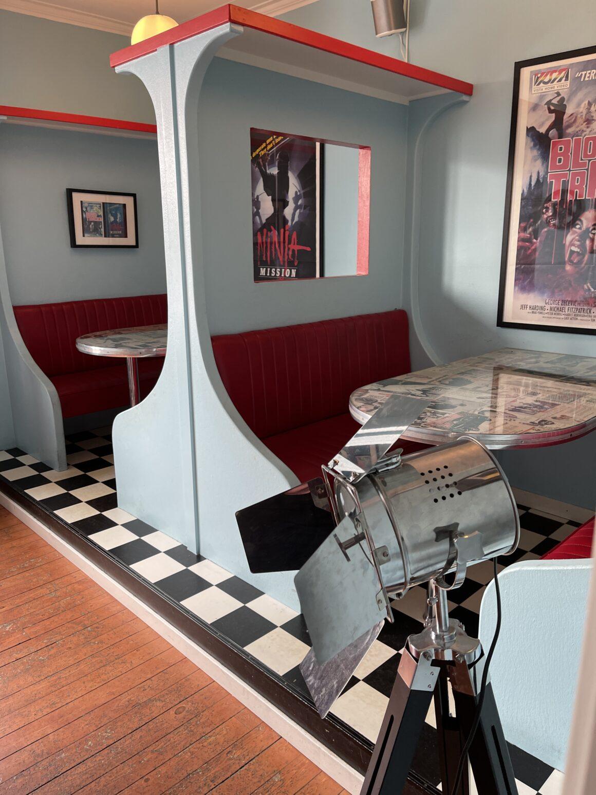 50-tals stil på Cafe Cineast