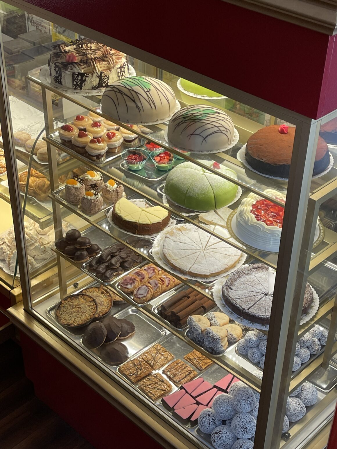 Bakverken på Cafe Cineast i Sveg
