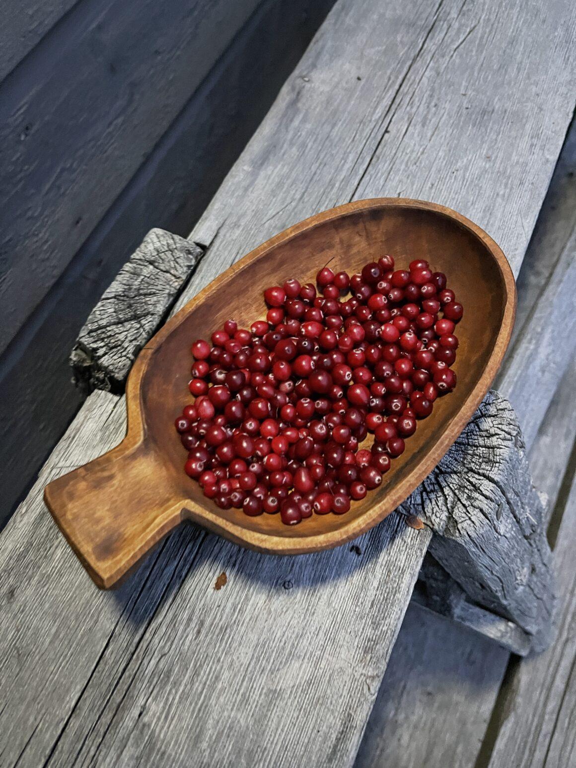 Tranbär i kåsa från Stig Sandkvist
