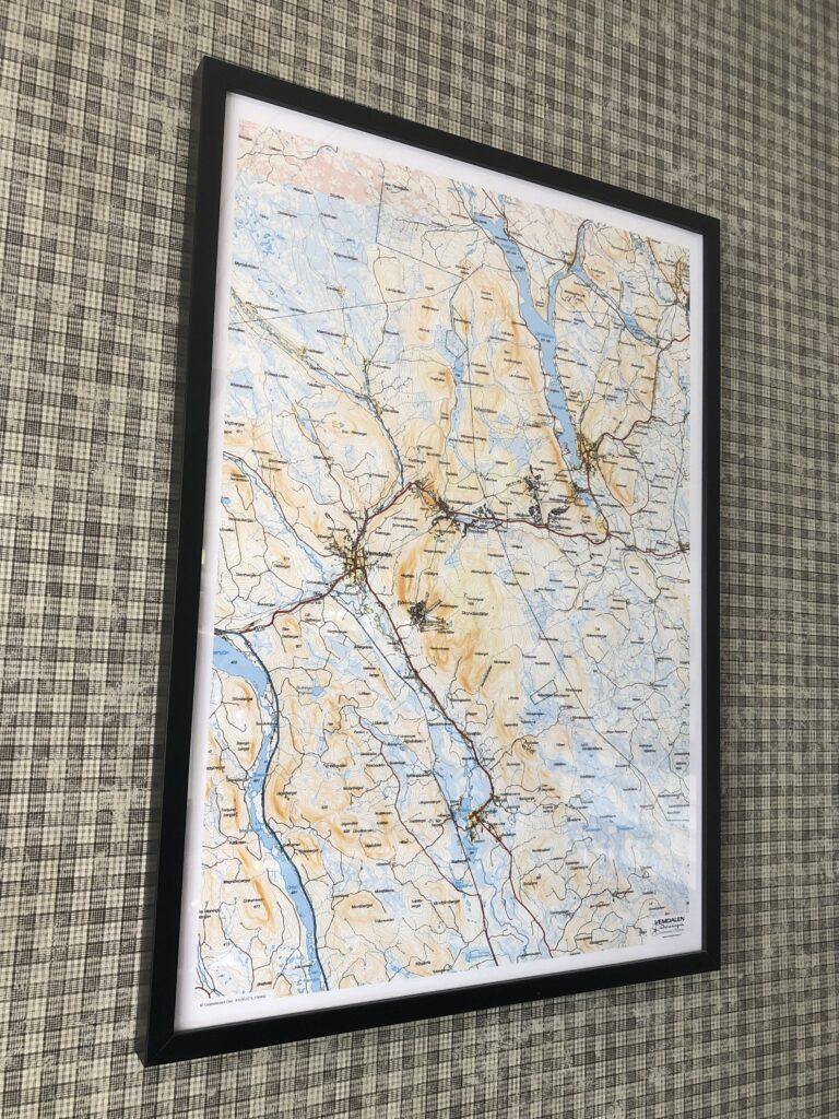 Vemdalen karta