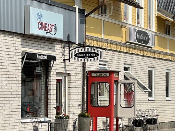 Cafe Cineast i Sveg Härjedalen